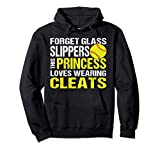 Softball Hoodie Cleats Pitcher Catcher Team Player Gift Pullover Hoodie