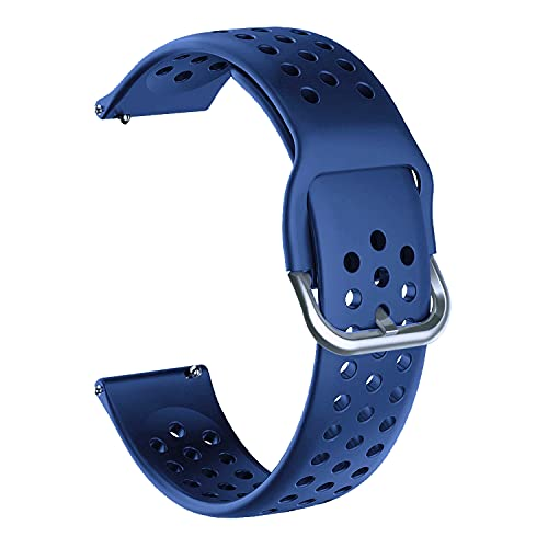 Acm Watch Strap Silicone Belt 20mm Compatible with Timex...