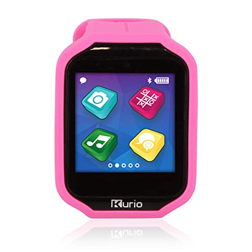 KD Interactive Kurio Watch 2.0+ The Ultimate Smartwatch Built for Kids with 2 Bands, Pink & Color Change