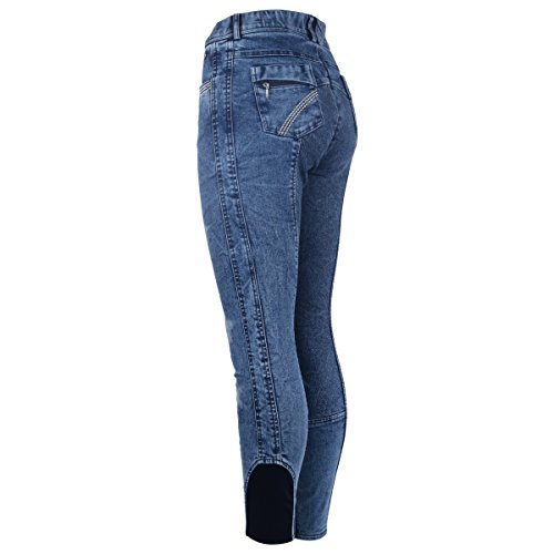 Imperial Riding Damen Reithose Exotic Jeans Look (34, Jeans)