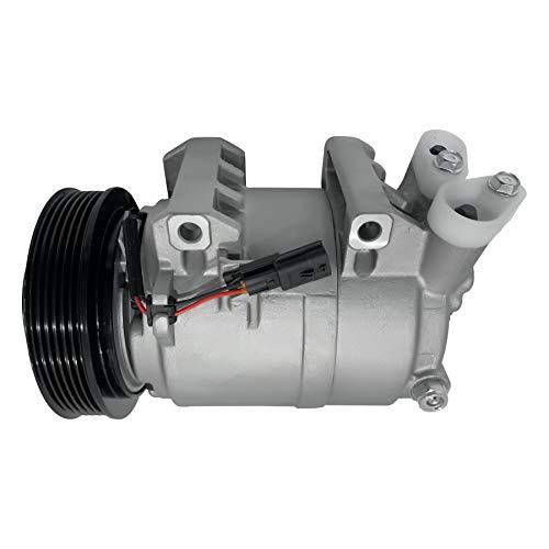 RYC New AC Compressor and A/C Clutch IH490-01 (Fits Nissan Rogue 2.5L 2008, 2009, 2010, 2011, 2012, 2013)