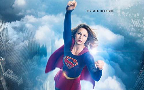 Wayne Dove Supergirl Season 4 Póster en Seda/Estampados de Seda/Papel Pintado/Decoración de Pared 880303921