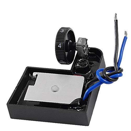 X-DREE Interruttore di controllo della velocità pezzo di ricambio della macchina di scuotimento elettrica(Interruptor de control de velocidad de repuesto de la máquina eléctrica de Poilshing