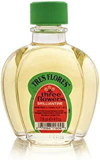 Clubman Tres Flores Brilliantine Liquid Hair Dressing, 4 fl oz