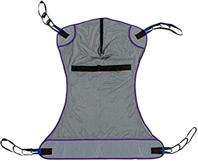 Patient Aid Full Body Mesh Patient Lift Sling, Ideal for Children and Small Adults, Size Small