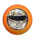 Lollipop Lures Zoka Ball Kabura Jig, Cebo vivo Zoka, Pesca de barco, Naranja Luminoso, 180g