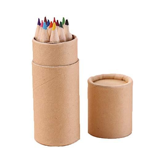 NIUPAN 12 Farbe Kleiner Bleistift MalstiftFarbstift Studentenbüro Briefpapier Schreiben Malerei  Standardstift