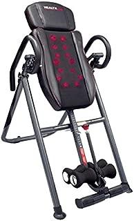 Health Gear ITM7.0-S Patented Deep Tissue Shiatsu Heat & Massage Inversion Table - Heavy Duty up to 300 lbs.