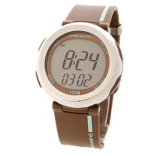Dunlop Unisex Erwachsene Digital Quarz Uhr mit Gummi Armband 9.33004E+12