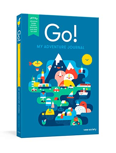 Product Image of the Go! Kids' Interactive Travel Diary & Journal