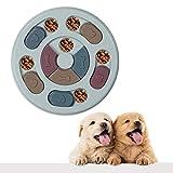 VECELA Ciotola per Cani Fun Feeder Slow Feeder,Puzzle Dog Toy Giocattolo Intelligente per Cani ,Ciotola interattiva Slow Food per Animali Domestici