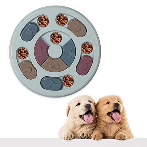 VECELA Hundespielzeug Intelligenz Hundefutter Welpenspielzeug,Verlangsamen Sie das Essen von Hundespielzeug,Anti-Rutsch-Puzzle-Spielzeug für Hunde, Welpen und Katzen