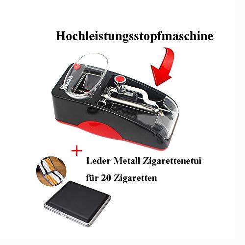 TUHFG Vollautomatische Elektrische Kleine Haushalt Kreative Tragbare Hochleistungsautomatik Upgrade Der Zweiten Generation,Red