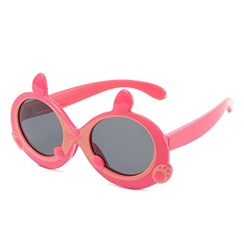 JHGK Kinder Sonnenbrille Polarisierte Sonnenbrille, Art Und Weise Nette Kleine Mäuseform-Baby-Brille,4