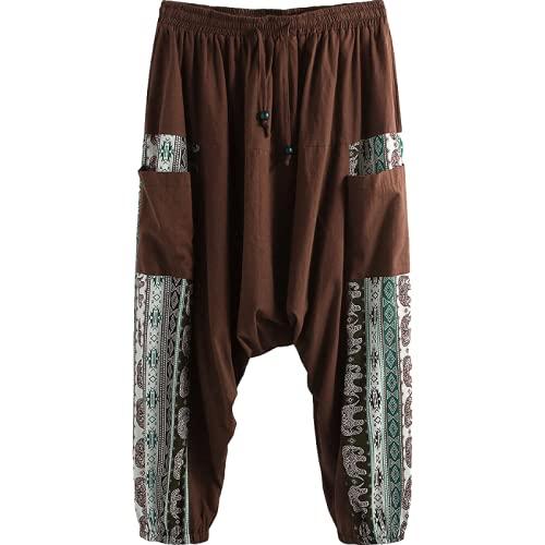 Pantalones Casuales para Hombre, Moda, Estilo étnico, Estampado con Personalidad, Pantalones Casuales de...