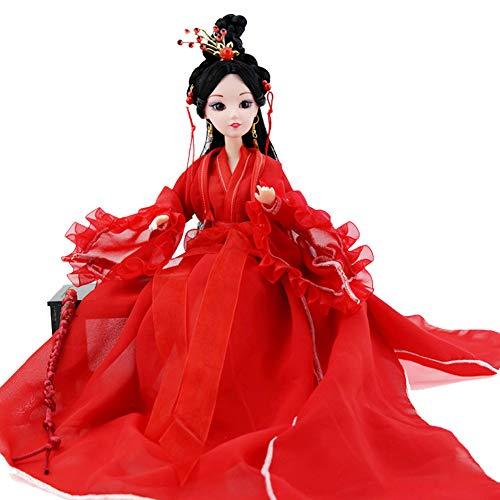 UR MAX BEAUTY Sammlere Puppe, 1/6 chinesische Puppe, 30 cm Orientalische Dekor, Tischplatte Dekorative Puppe,LIU yu