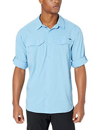 Columbia Men's Silver Ridge Lite Long Sleeve Shirt, Blue Sky, X-Large