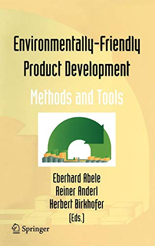 Download Environmentally-Friendly Product Development: Methods and Tools 1852339039