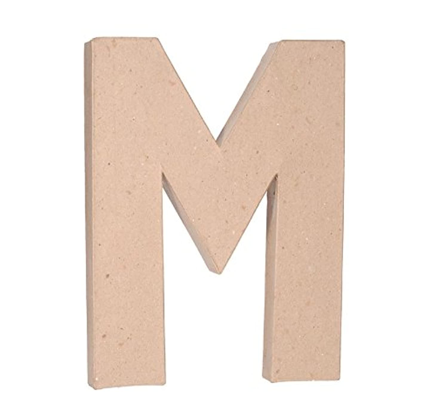 Darice 2861-M Paper Mache Letter 12Inx1.5In