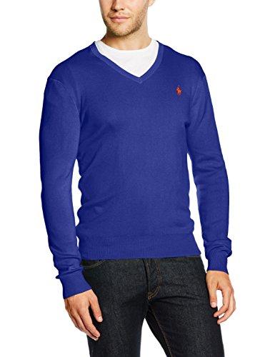 Polo Ralph Lauren Herren LS SF VN PP Sportpullover, Blau (New PERWINKLE A461B), Large