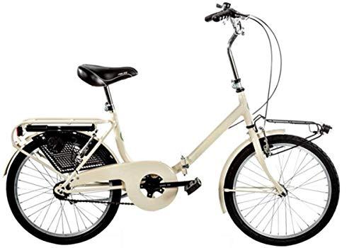 Cicli Puzone Bici 20' Pieghevole GRAZIELLA Art. GRZ20 (Panna)
