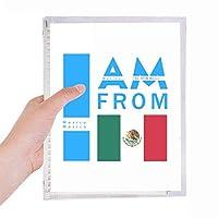 私はメキシコから 硬質プラスチックルーズリーフノートノート