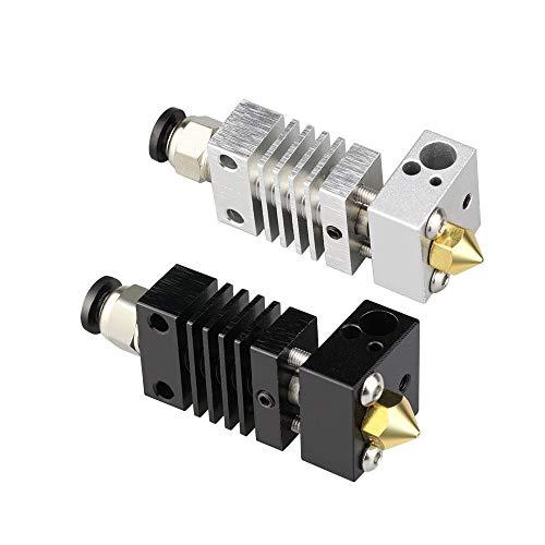 HUANRUOBAIHUO-HAT CR10 Hotend Extruder Langstrecke Titanlegierung thermische Wärme Pause Throat for Creality CR10 3D-Drucker Micro Schweizer 3D-Drucker-Teile