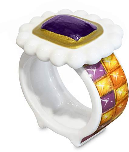 Baci Milano - LE GIOIE ring van porselein d 5,5 cm - NAPK.GIO05