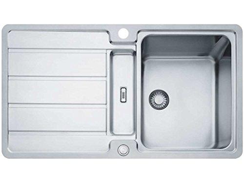 Franke Hydros HDX 284 Edelstahl-Spültisch glatt Küchenspüle Spülbecken SlimTop