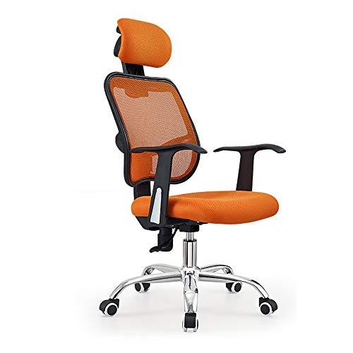 Jiamuxiangsi Draaistoel, eenvoudige bureaustoel voor de persoonlijke hoofdstoel, ergonomische gamingstoel voor thuis, stoel voor studenten