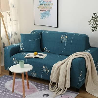 ASCV Federmuster Sofabezug Schonbezug Sofa Für Sofa Handtuch Wohnzimmermöbel Schutzsessel Sofas A21 4-Sitzer