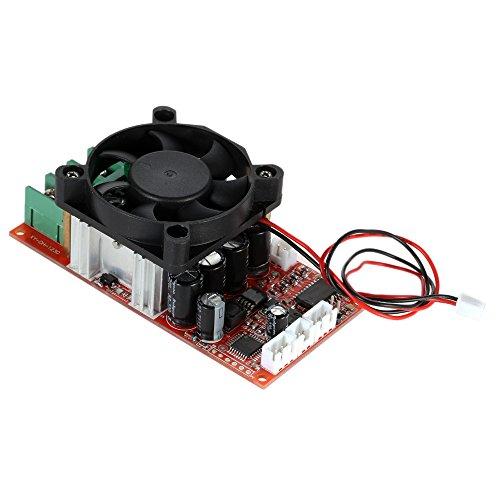 KKmoon DC Motor Speed Control PWM Drehzahlsteller Verstellbare H-Bridge mit SPS-Steuerung Umkehr Switch Bremsen Ventilator 12V 24V 36V 50V Geschwindigkeit Einsteller 1500W Pulse Width 0-100%