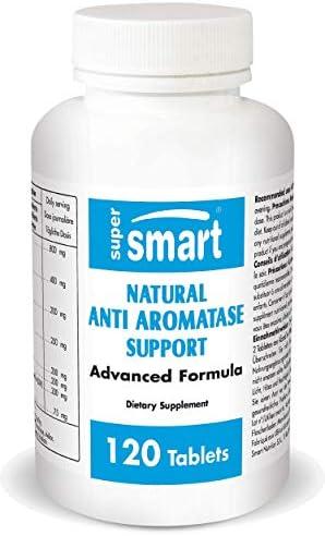 Supersmart Natural Anti Aromatase Support Endocrine System Enhanced Formulation with DIM Quercetin product image