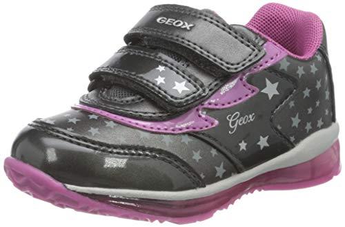 Geox B Todo Girl A, Scarpe da Ginnastica Bambina, Dk Grey, 22 EU
