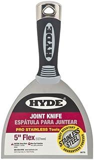 HYDE 06778 Flexible Joint Knife, 5 Inch, Black