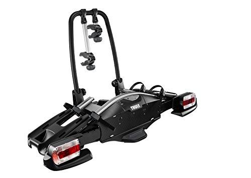 Thule VeloCompact 2 7-pin, Portabicicletas compacto y ligero para uso diario (para 2 bicicletas).