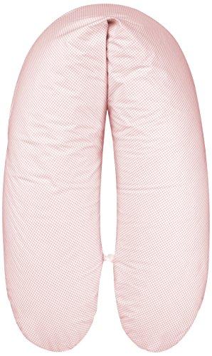 ARO ARTLÄNDER 88162 Housse pour coussin d'allaitement avec garnissage billes et, longueur 178 cm, rosé