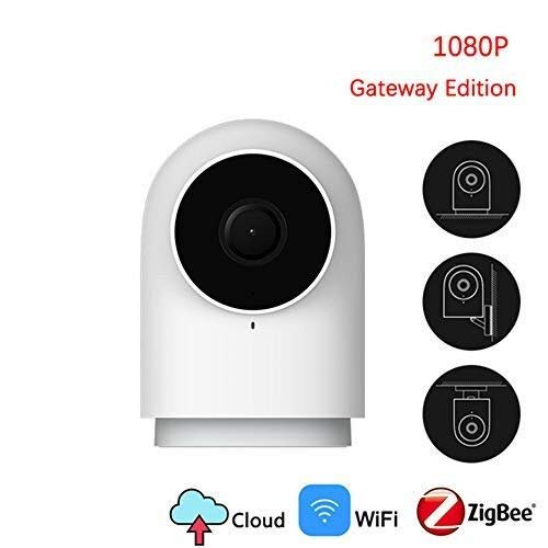pour Aqara Smart Sensor Set -Aqara Caméra 1080P HD Système de caméras IP de sécurité, avec Fonction Gateway, Aqara Smart Home Control pour Mijia App.