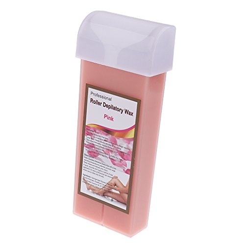 B Baosity Cartucho Roll On Wax 100g Depilatoria Afeitado Depilación Piel Normal Sensible - rosa