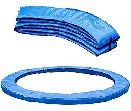 ZWFPJQD Cubierta Protectora Cama elástica, pie diámetro del Muelle Protector de Borde de la Cubierta, Resistente a los UV y Resistente Colchón de Seguridad trampolín,8ft