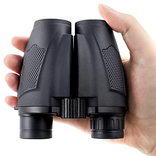 PHYLES Fernglas 10x25,Kompakte Ferngläser, mit BAK4- und FMC-Prismen für Kinder und Erwachsene, zum Wandern, Sightseeing, Jagen