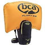 bca Float 2.0 - Mochila para avalanchas, Unisex adulto, Mochila para avalanchas., 23C0001.1.1.1SIZ, Negro , 54 x 30 x 15 cm, 22 Liter