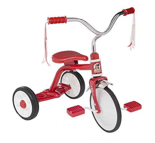 Apache | Triciclo Apachito Ride On | para Niños de 2 a 4 Años | Modelo Clásico | Color Rojo