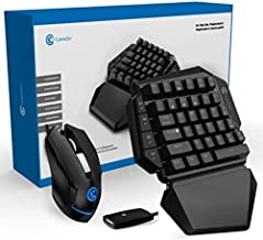 GameSir Black - Wireless Converter (For PS4/PS3/Xbox One/Nintendo Switch/PC) Console Games AimSwitch with keyboard and mou...