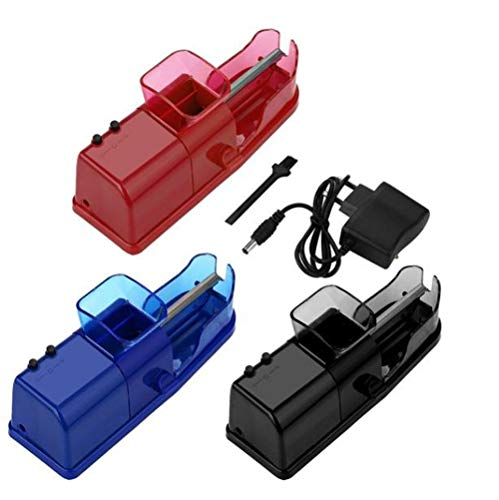 One Functional Portable Electric Automatic Cigarette Rolling Machine Tobacco Injector Maker Roller US Plug