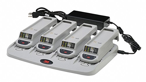 3M TR-344N 4-Station Battery Charger Kit for Versaflo TR-300 and Speedglas TR-300-SG PAPR 1/Case