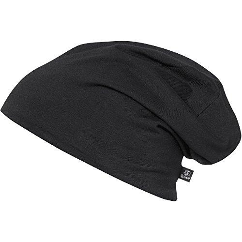 Beanie Jersey 9168-79-M/L Bicolor Black-Anthr. -(normal)