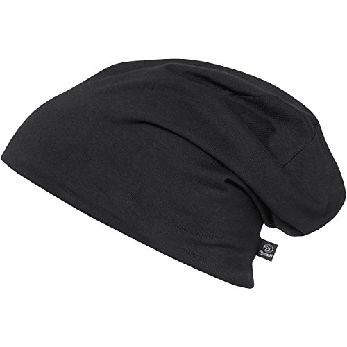 Beanie Jersey 9168-79-M/L Bicolor Black-Anthr. -(normal)
