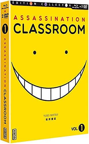 Assassination Classroom-Box 1 [Édition Collector Blu-Ray + DVD]