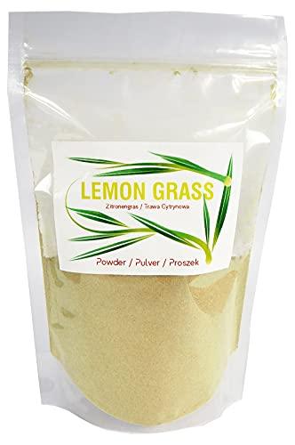 Zitronengras Pulver, gemahlen, ideal für Tee und asiatische Gerichte, Lemongras Gewicht - 900 g